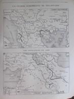 GUERRE 14-18 Carte Du Front Asiatique   Guerre Des Balkans - Alte Papiere