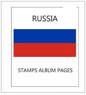 Suplemento Filkasol RUSIA 2016 -  Montado Con Filoestuches HAWID Transparentes - Albums & Bindwerk