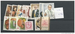 1980 MNH Finland, Finnland, Year Complete According To Michel, Postfris - Finland