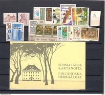 1982 MNH Finland, Year Complete According To Michel, Postfris - Finland