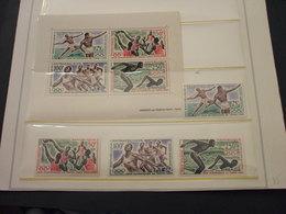 CENTRAFRICAINE - P.A. 1964 GIOCHI TOKYO 4 VALORI + BF - NUOVI(++) - Repubblica Centroafricana