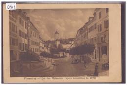 PORRENTRUY - RUE DES MALVOISINS - B ( MINI PLI D'ANGLE ) - JU Jura
