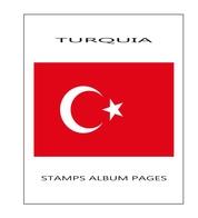 Suplemento Filkasol TURQUIA 2013 - Montado Con Filoestuches HAWID Transparentes - Albums & Bindwerk