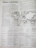La Grande Guerre 14-18 L ALLEMAGNE N A Plus De COLONIES Allemandes Afrique Samoa  Marshall Iles Kiaou Tchéou - Alte Papiere