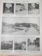 La Guerre 14 18  Les Russes à TREBIZONDE   Erzeroum Ispir  12 Photos   1916 - Alte Papiere