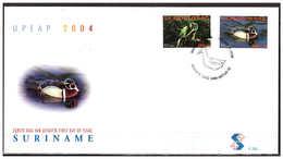 Surinam / Suriname 2004 FDC 282 UPAEP Papegaai Parrot Papegai Papagei Eend Duck Ente Canard - Suriname