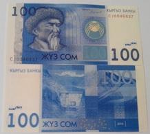 Kyrgyzstan - 100 Som 2016 UNC Ukr-OP - Kyrgyzstan