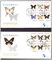 Surinam / Suriname 2005 FDC 285ab Vlinders Butterfly Schmetterling Papillon - Suriname