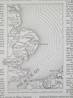 La Guerre 14 18 Semaine Militaire 20 27 Avril  Attaque Escadre Allemande  Sur La Cote Anglaise  + Carte Front - Alte Papiere
