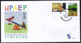 Surinam / Suriname 2005 FDC 289a UPAEP School Schule Teaching - Suriname