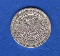 All  20  Pf  De  1892 A - [ 2] 1871-1918 : Empire Allemand