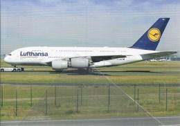 Lfthansa Airlines A380 D-AIMH Frankfurt FRA - 1946-....: Era Moderna