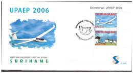 Surinam / Suriname 2006 FDC 296a UPAEP Airplane Mill Flugzeuge Mühle Avion Moulin S/S - Suriname