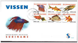 Surinam / Suriname 2006 FDC 297 Vissen Fishes Fischen Poisson - Suriname