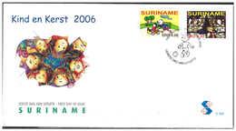 Surinam / Suriname 2006 FDC 298 Child / Christmas - Suriname