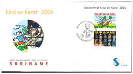 Surinam / Suriname 2006 FDC 298a Child / Christmas S/S - Suriname