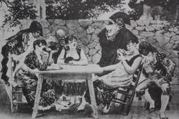 "Cuadro De Josep LLOVERA BUFILL ""Briscola"" Brisca - Playing Cards - Vintage Postcard - Cartes à Jouer"