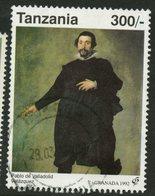 Tanzania 1992 300sh Pablo De Valladoid Velazquez Issue #870 - Tanzania (1964-...)