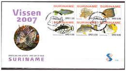 Surinam / Suriname 2007 Vissen Fishes Fischen Poisson - Suriname