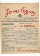 LÉGION FRANÇAISE Ds COMBATTANTS Et Ds VOLONTAIRES De La RÉVOLUTION NATIO. JEUNE LÉGION N°17 AOÛT 43 - Guerre 1939-45