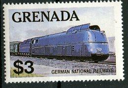 Greneda 1982 $3.00 German National Railway Issue #1125 - Grenada (1974-...)