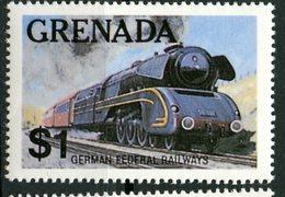 Greneda 1982 $1.00 German Federal Railway Issue #1124 - Grenada (1974-...)