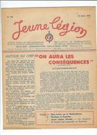 LÉGION FRANÇAISE Ds COMBATTANTS Et Ds VOLONTAIRES De La RÉVOLUTION NATIO. JEUNE LÉGION N°18 AOÛT 43 - Politique