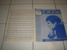 PARTITION UNE LARME AUX NUAGES ADAMO - Muziek & Instrumenten