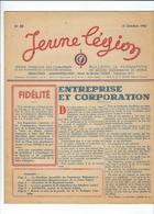LÉGION FRANÇAISE Ds COMBATTANTS Et Ds VOLONTAIRES De La RÉVOLUTION NATIO. JEUNE LÉGION N°22 OCTOBREPT 43 - Alte Papiere