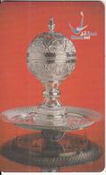 OMAN(chip) - Silver Frankincense Burner, Chip GEM3.1, 09/02, Used - Oman