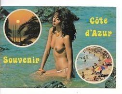 NUS / Souvenir De COTE D'AZUR / CPM 3 Vues N° 600-13 éditions Y.P.A. VIERGE /  BON ETAT - Autres