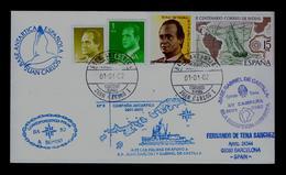 "Spanish Base Antartic ""Juan Carlos I"" Island Decepcion ""Base Gabriel De Castilla"" Bateaux Maps Geography Sp5177 - Polar Ships & Icebreakers"