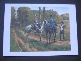 Affiche : Hussards De L'Empereur Bonaparte En Patrouille - Documents