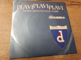 Old Vinyl Records - Soccer, Croatia, NK Dinamo Zagreb - 45 Rpm - Maxi-Singles