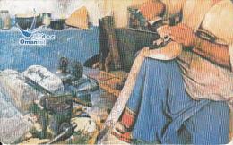 OMAN(chip) - Traditional Handicraft(Khanjar), Chip GEM3.1, Used - Oman