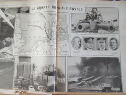 La Guerre 14 18 La Semaine Militaire Du 13 Au 20 Avril 1916 REGION BATAILLE DE VERDUN BATAILLE NAVALE MER DU NORD - Alte Papiere