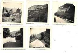 01 NANTUA  ET ENVIRONS LOT 5 PHOTOS ALLEMANDES 1940 / 1944 - Nantua