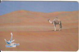 OMAN(chip) - Camel, Ship Of The Desert, Chip GEM3.3, 03/03, Used - Oman