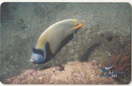 OMAN(chip) - Emperor Angelfish, Chip GEM3.1, 11/03, Used - Oman