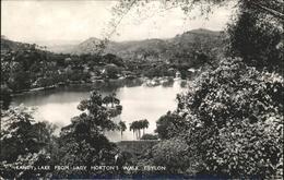 11313798 Kandy Sri Lanka Lake View From Lady Hortons Walk Kandy - Sri Lanka (Ceylon)