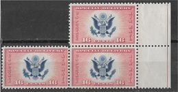 5Ez-641:US  3x N° A20:  Mint Never Hinged... Postfris - Air Mail