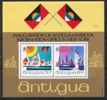 Antigua 1972 - Neuf ** , MNH  - Statue De La Liberté, Liberty, Voilier, Sailing Boat - Antigua And Barbuda (1981-...)