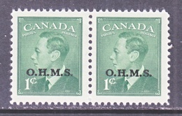 CANADA  OFFICIAL  O 12 X 2   * - Overprinted