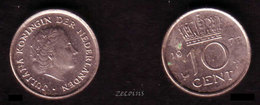 NETHERLANDS- 1 Coin 25 Cents . 1963 - UNC - [ 3] 1815-… : Reino De Países Bajos