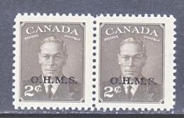 CANADA  OFFICIAL  O 13 X 2   ** - Service
