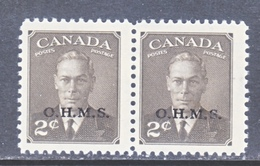 CANADA  OFFICIAL  O 13 X 2   ** - Overprinted