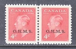 CANADA  OFFICIAL  O 15 X 2   * - Service
