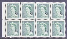 CANADA  OFFICIAL  O 34 X 8    * - Overprinted