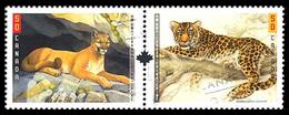 Canada (Scott No.2123a - Grands Chats / Big Cats) [**] - Blocs-feuillets