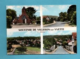 91 Essonne Villebon Sur Yvette  Carte Multivues ( Petites Taches Au Dos Voir Scans - France